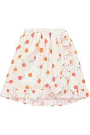 BONPOINT Girls Printed Skirts - Sveva printed cotton skirt