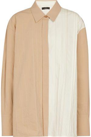Joseph Women Long Sleeve - Bacar cotton and linen shirt