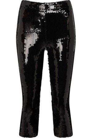 ALEXANDRE VAUTHIER High-rise sequined pants