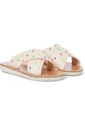 Ancient Greek Sandals Girls Sandals - Little Thais Soft leather sandals