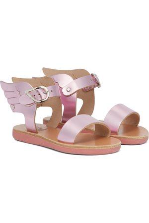 Ancient Greek Sandals Little Ikaria Soft leather sandals