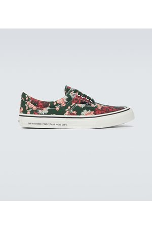 UNDERCOVER Floral canvas sneakers