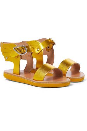 Ancient Greek Sandals Girls Sandals - Little Ikaria Soft leather sandals
