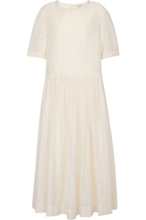 Max Mara Women Maxi Dresses - Caldeo cotton-blend maxi dress