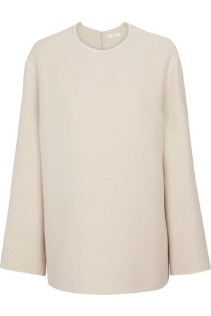 The Row Tamar cashmere, wool and silk sweater