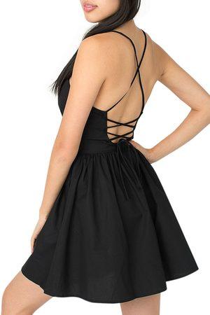 YOINS Women Summer Dresses - Open Back Cami Dress