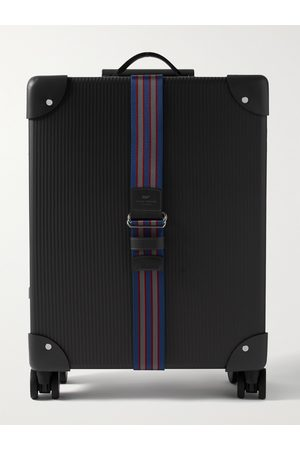 Globetrotter Men Luggage - No Time to Die 18 Leather-Trimmed Carbon Fibre Carry-On Suitcase""