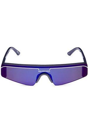Balenciaga Extreme 99MM Mirrored Mask Sunglasses
