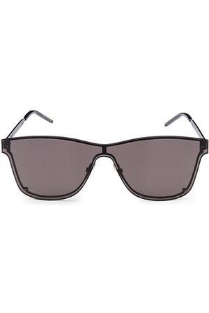 Saint Laurent New Wave 51MM Square Shield Sunglasses