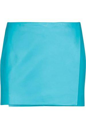 DODO BAR OR Leather miniskirt