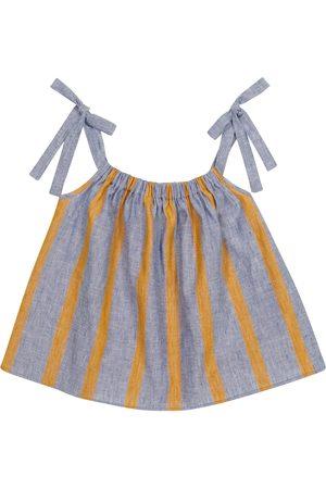 PAADE Sasha linen and cotton top