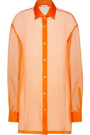 DRIES VAN NOTEN Silk organza shirt