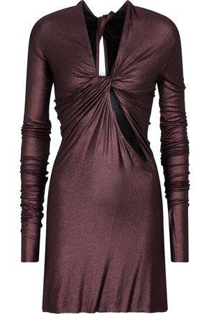 Rick Owens Women Casual Dresses - Stretch-jersey minidress