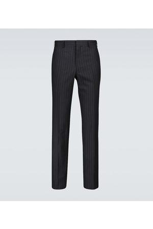 COMME DES GARÇONS HOMME DEUX Men Formal Pants - Wool chalk-striped pants