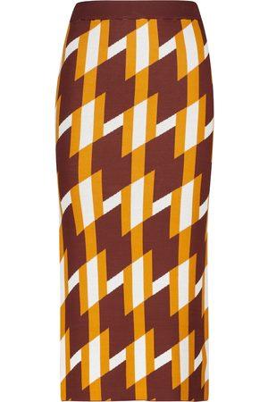 DODO BAR OR Women Pencil Skirts - Jacquard knit maxi skirt