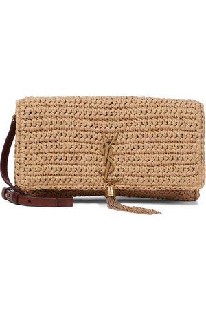 Saint Laurent Women Shoulder Bags - Kate 99 raffia shoulder bag