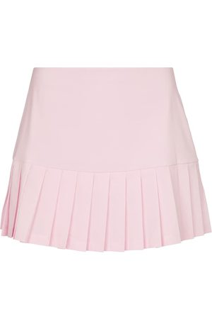 Tory Sport Women Sports Shorts - Pleated miniskirt