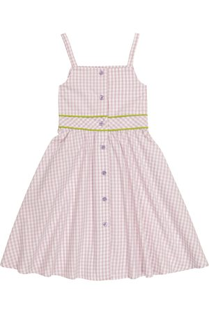 PAADE Girls Summer Dresses - Cleo gingham cotton dress
