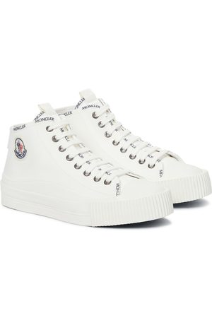 Moncler Lissex canvas sneakers