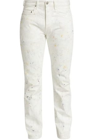 JOHN ELLIOTT The Daze Iridescent Paint Splatter Jeans