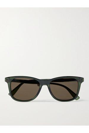 Gucci Men Sunglasses - D-Frame Acetate Sunglasses