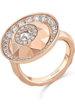 David Morris Women Rings - 18kt rose Cut Forever Single Disc ring