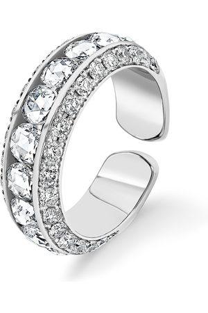 David Morris Women Rings - 18kt gold Pearl Rose Cut ring
