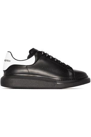 Alexander McQueen Men Sneakers - Oversized leather sneakers