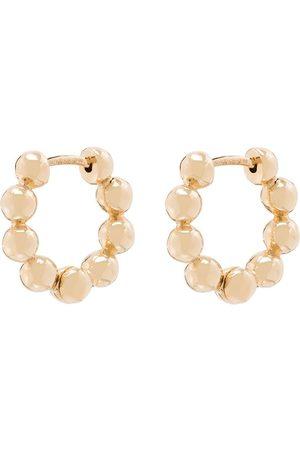 Dana Rebecca Designs Women Earrings - 14kt yellow Poppy Rae pebble huggie earrings