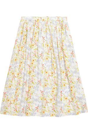 Paade Mode Viola floral satin skirt