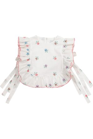 Paade Mode Girls Tops - Alice floral linen-blend top