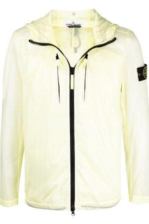 Stone Island Men Sports Jackets - Logo-patch windbreaker jacket