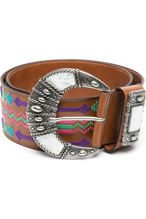 Etro Abstract-embroidered belt