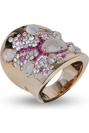 RODNEY RAYNER 18kt rose gold Starburst ring