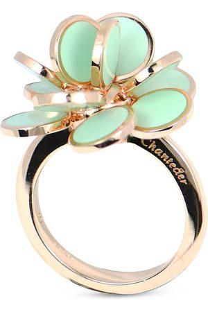 CHANTECLER 18kt rose gold mini Paillettes ring