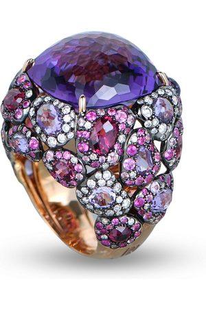 RODNEY RAYNER Women Rings - 18kt rose gold diamond Via Roma ring