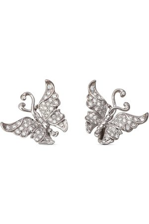 Carrera 18kt white gold diamond Alegoria earrings