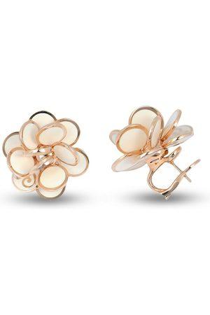 CHANTECLER Women Earrings - 18kt rose gold Pailettes enamel earrings