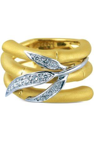 Carrera 18kt diamond Bamboo Zen ring
