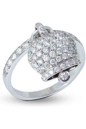CHANTECLER 18kt white gold Campanella diamond ring