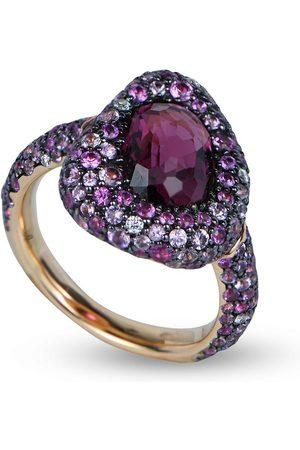 RODNEY RAYNER 18kt rose gold diamond Via Roma ring