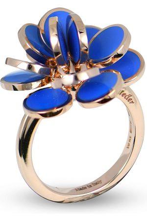 CHANTECLER Women Rings - 18kt rose gold mini Paillettes enamel ring