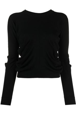 Maison Margiela Ruched detail knitted jumper