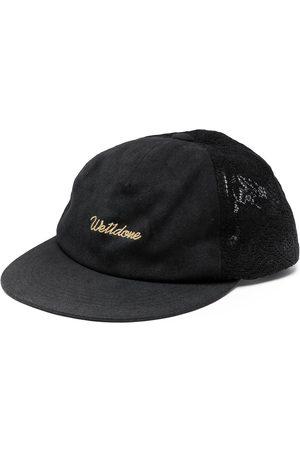 We11 Done Embroidered-logo baseball cap