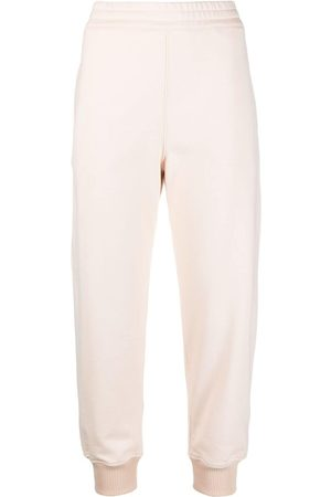Alexander McQueen Women Pants - Logo-embroidered track pants