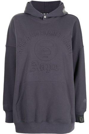 AAPE BY A BATHING APE Raised logo hoodie