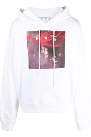 OFF-WHITE Diag Spray Caravaggio hoodie