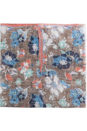 Lady Anne Gigliop foral-print scarf