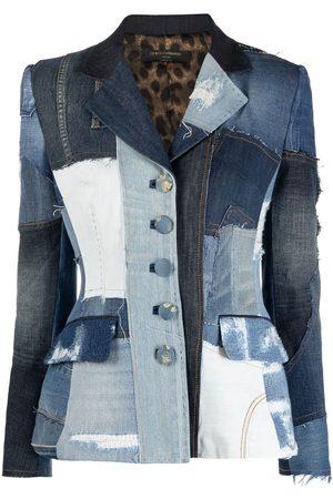 Dolce & Gabbana Dolce patchwork denim blazer