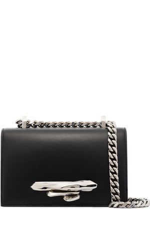 Alexander McQueen Mini Sculptural four-ring shoulder bag